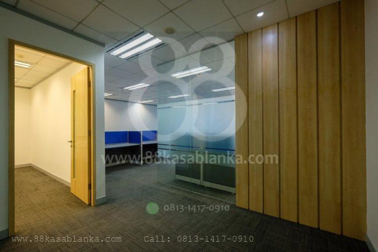 Sewa Office EightyEight@Kasablanka Luas 123 m2