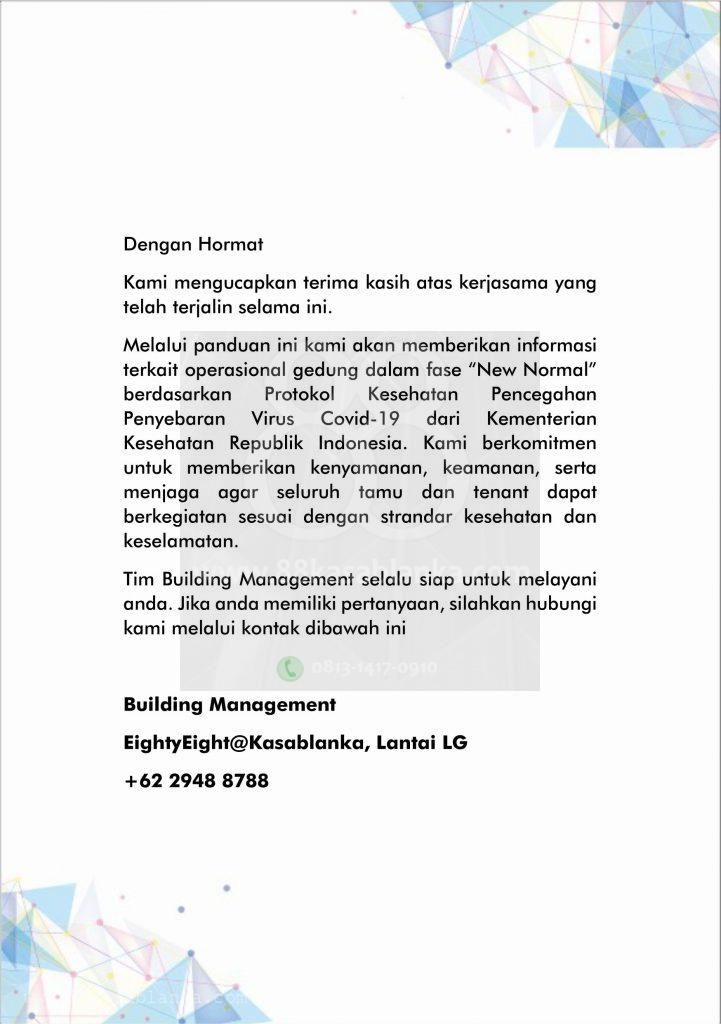 88kasablanka Tenant Guide New Normal 2 1