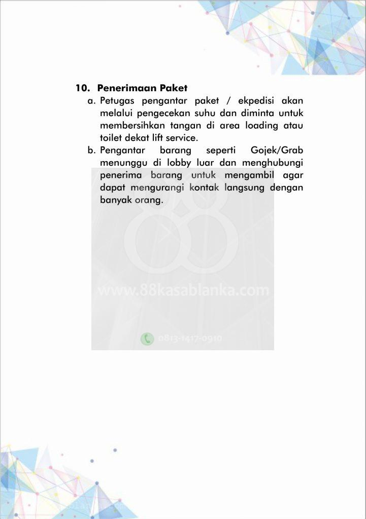 88kasablanka Tenant Guide New Normal 9
