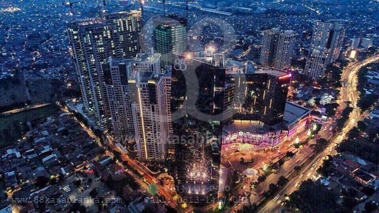 Sewa Office 88@Kasablanka Rp.220.000 / m2
