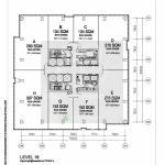Layout Office88 Kasablanka For Lease
