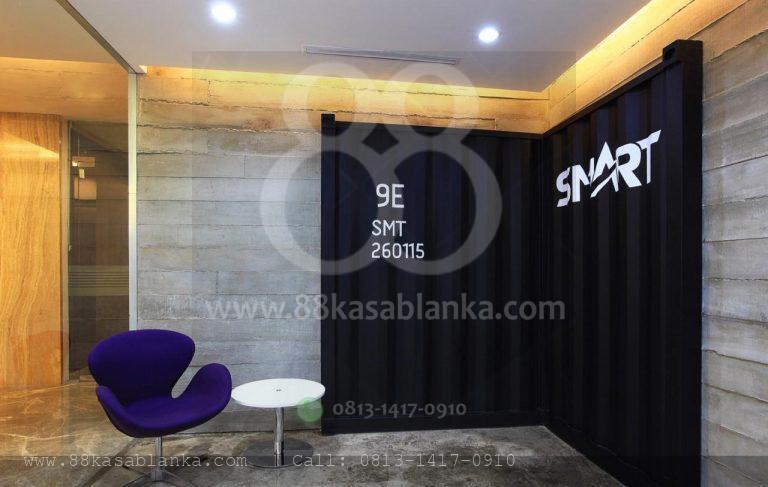 Jual Ruang Kantor Office88 Kasablanka Semi Furnished Luas 272 m2